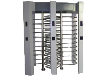 Stainless-steel-Double-channel-access-control-system-full-height-turnstile